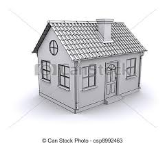 free house search frame house 3d model of a white drawings search clipart