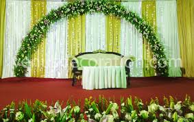 Christian Wedding Planner Christian Wedding Stage Decorations In Kerala Kerala Style