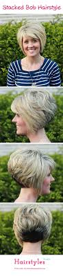 hairstyle wedge at back bangs at side gorgeous stacked bob hairstyle with side swept bangs for thick