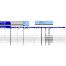 Project Tracking Template Excel Sle Project Tracking Sheet With Explanation On How To Use It
