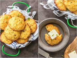 thanksgiving and christmas cheesy garlic cornbread drop biscuits the cookie rookie