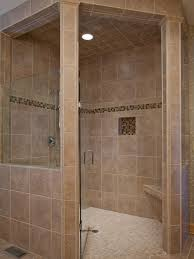 handicap accessible curbless shower design pictures remodel