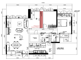 plan kitchen design layout floor archicad cad autocad drawing cozy