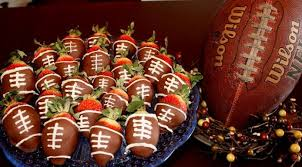Super Bowl Decorating Ideas Strawberries For The Super Bowl