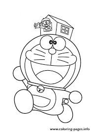 Doraemon And Small House 589e Coloring Pages Printable Small Coloring Pages