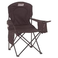 Furniture Chair Amazon Com Coleman Oversized Quad Chair With Cooler Camping