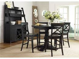 Black Dining Table Black Round Dining Table Set Starrkingschool