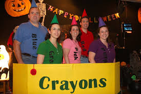 Crayon Halloween Costume 2009 Runnerup