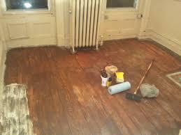 wood floors a pink brownstone in