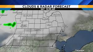 Radar Map Of Michigan by Metro Detroit Weather Forecast Honing In On Tonight U0027s Severe