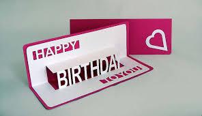 happy birthday pop up card lets make it lovely happy birthday pop