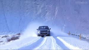land rover snow 2015 land rover discovery sport iceland snow youtube