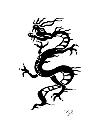 chinese dragon tribal by silgan on deviantart