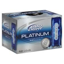 bud light platinum price bud light platinum beer 12pk 12oz slim cans target