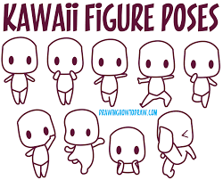 creepy kawaii background a reference to kawaii bodies kawaii body poses how to draw