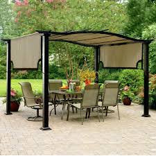 gazebo covers pergola canopy replacement gazebo covers shade 10 10 canadian tire