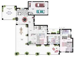 plan de maison en v plain pied 4 chambres plan maison awesome plan de la maison with plan maison