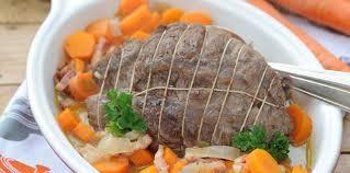 comment cuisiner le paleron paleron de bœuf aux carottes facile et pas cher recette sur
