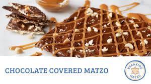 chocolate covered matzo youtube