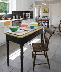 ideas for kitchen floors linoleum tile more old house an easy care ceramic floor with the look of stone photo siematic