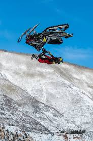 freestyle motocross ramps colton moore earns silver in x games snowmobile freestyle fly