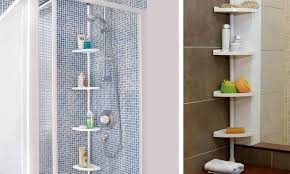 Telescopic Bathroom Shelves Telescopic Shower Corner Shelves Images Bathtub For