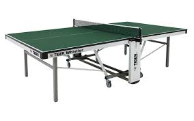 ping pong table tennis whistler indoor ping pong table by tiger pingpong