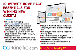 10 Must Home Essentials The by 10 Website Home Page Essentials For Winning Clients Article