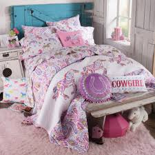 girls cowgirl bedding amazon com pony paisley quilt twin home u0026 kitchen
