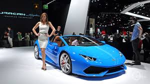 car lamborghini blue germany frankfurt cars blue lamborghini at the iaa in frankfurt