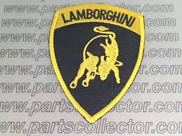 lamborghini badge partscollectors ricambi classic ferrari ansa carello lamborghini