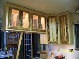 Hand Made Rustic Aspen Log Kitchen Cabinets And Built In Wall - Kitchen cabinets custom made