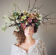 floral headdress 107 best floral crowns headdresses images on floral