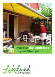 Lifestyle Awnings Awnings Main Brochure Blank
