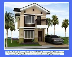 Simple Two Storey House Design 1158