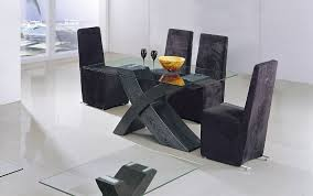 table de cuisine moderne en verre best table de cuisine noir gallery amazing house design