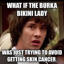 Burka Meme - livememe com conspiracy keanu