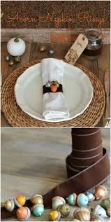 thanksgiving dinner napkins thanksgiving dinner table decor 16 diy napkin ring ideas style