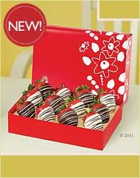 White Chocolate Dipped Strawberries Box Edible Arrangements Confetti Berries White Chocolate Box