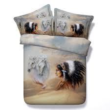 Cal King Comforter Online Get Cheap Horse Bedspreads Comforter Sets Aliexpress Com