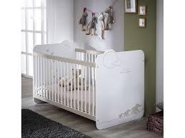 conforama chambre de bebe lit bébé 60x120 cm jungle coloris blanc décor jungle vente de