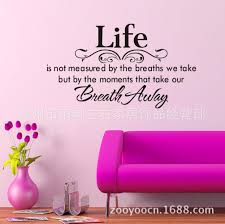 foreign trade english poetry life wall stickers can see larger image