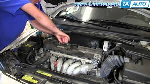 how to install replace engine coolant temperature sensor volvo v70