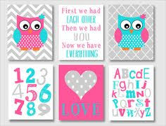 Nursery Owl Decor Baby Nursery Nursery Decor Owl Nursery Owl