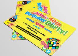 Personalised Birthday Invitation Cards Invites And Cards Print Diverse Print U0026 Graphic Sligo