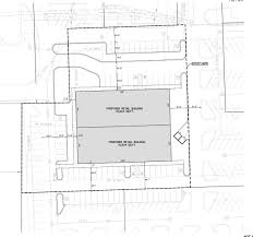 warren business center u0027s site plan