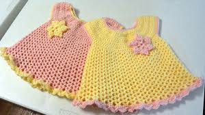 11 crochet baby dresses the crochet crowd