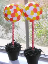Lollipop Topiary Great Ideas 30 Fall Projects Tatertots And Jello