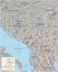 Zagreb Map Balkan Region Map Europe