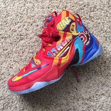 Nike Lebron 13 nike lebron 13 eybl gets nascar inspired look collective kicks